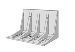 サンKクリア工法L形擁壁ミルウオール